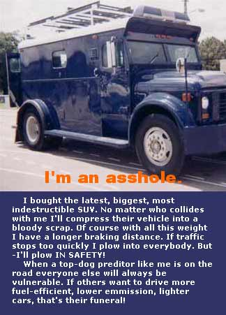 It is an armored car stupid