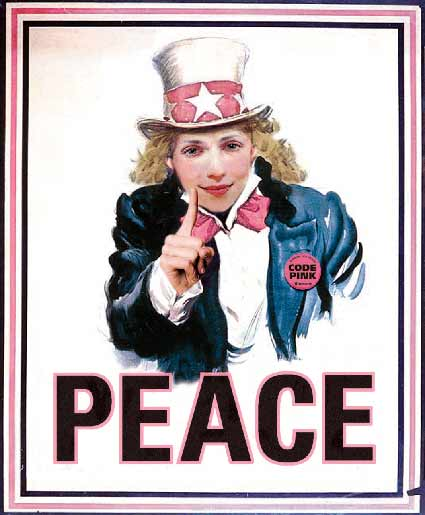 Aunt Sally wants you to think about peace