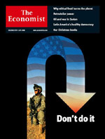 Cover of December 8 The Economist