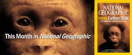National Geographic missing link