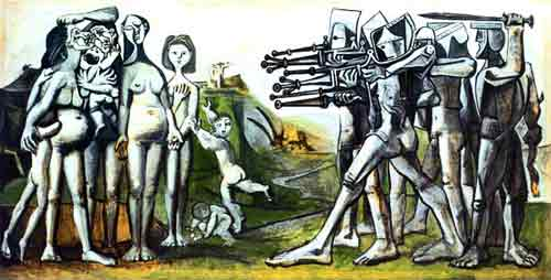 The killing of Korean women and children by Piccaso