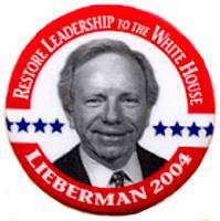 Lieberman wanted to be president