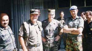 Serbian war criminal Mladic.