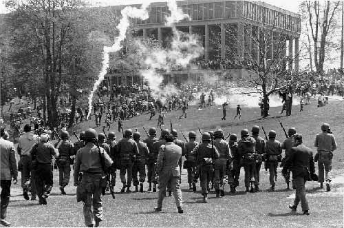 National Guard moves in on Kent State students
