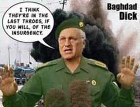 Baghdad Dick claims unqualified victory