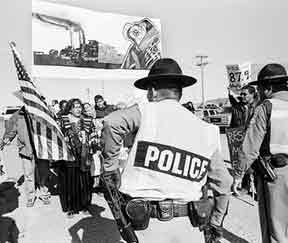 Navajo protest
