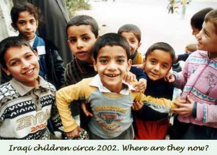Whatever became of the children of Baghdad