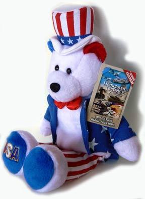 Limited Treasures commemorative teddy bear