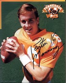Peyton Manning signed photograph