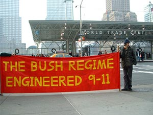 BUSH REGIME ENGINEERED 9-11