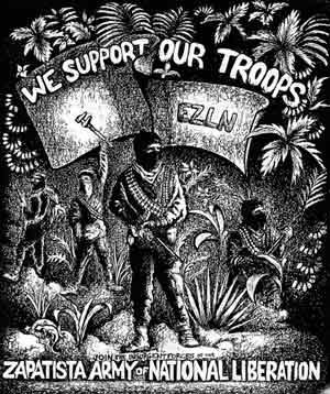 EZLN Zapatistas Subcomandante Marcos