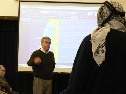 Deputy Consul General Gil Artzyeli lecture November 12, 2009
