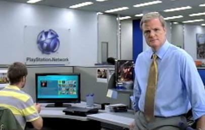 Sony PS3 Playstation network TV spot