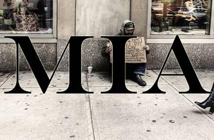 Homeless Vietnam veteran panhandler beggar