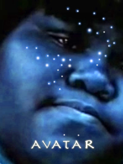 Avatar movie poster based on the novel by Sapphire