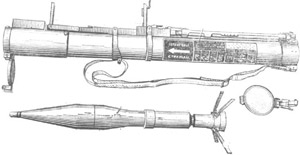 rocket propelled grenade RPG-22