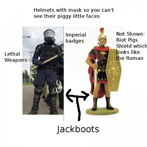 Riot Cops, then and now