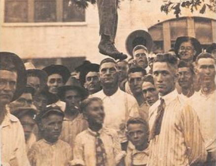 The lynching of Lige Daniels, Texas 1920