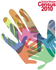 2010 Census hand brochure cover