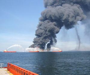 BP Transocean Deepwater Horizon oil platform