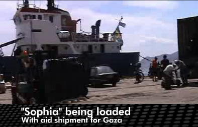 Swedish-Greek ShipToGaza SOPHIA