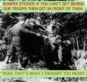 German soldiers executing partisans in 1944
