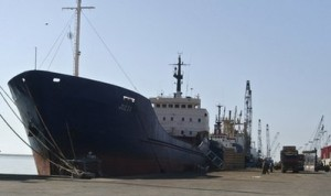 Naji Al Ali docked in Lebanon