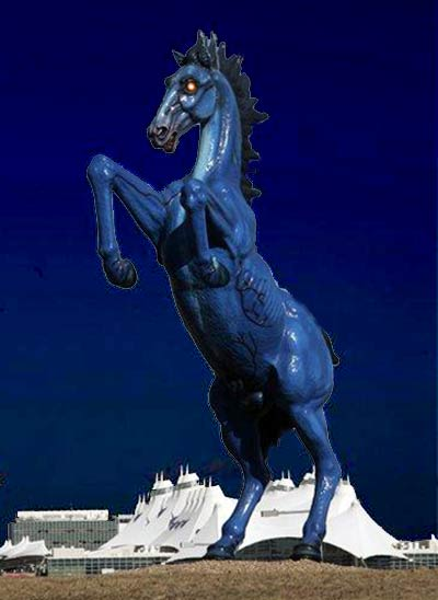 Bluecifer, Satan's Steed, the Demon Stallion