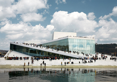 Oslo Opera Hus, i Norge