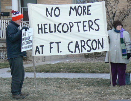 No expansion at Ft Carson and Pinon Cayon