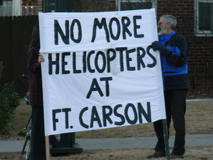 No more helicopters at Ft Carson