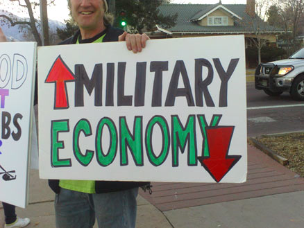 More military means economy tanks