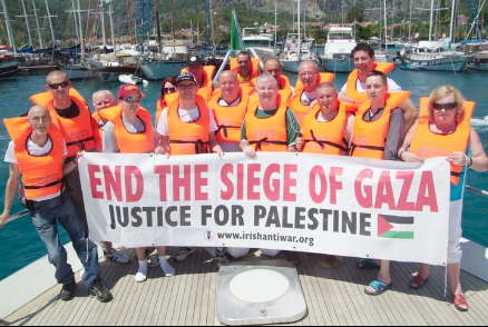 Gaza Freedom Flotilla II - Stay Human - Aid Convoy