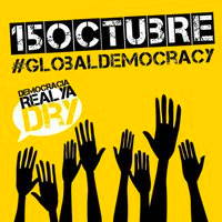 15 Octubre, Global Democracy, now subverted to United For Global Change