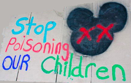 Disney stop poisoning our children