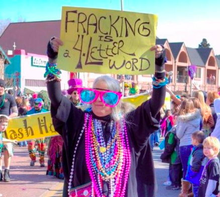 Fracking is a 4-letter word