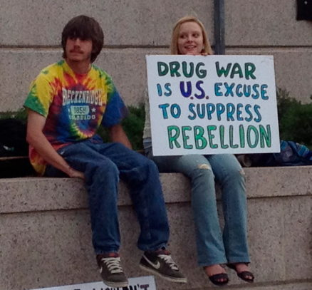 Drug war is US excuse to suppress rebellion