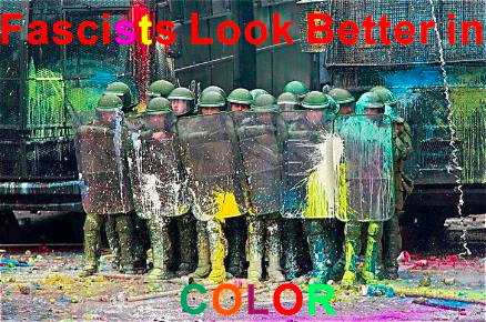 Fascists look better in color