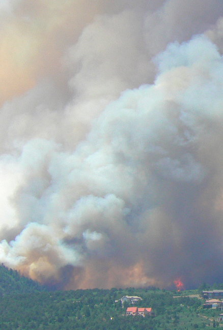 Waldo Canyon Fire began as the Pyramid Mountain Fire on June 22