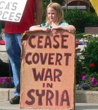Cease Covert War in Syria