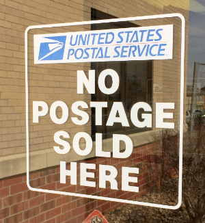 Post office in Kansas