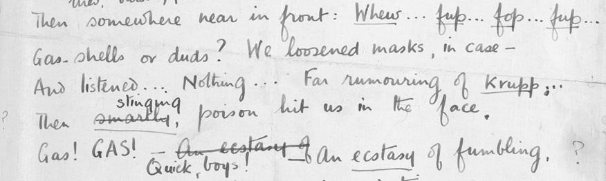Wilfred Owen Essays