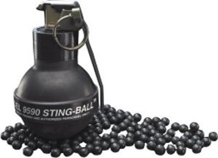 Stinger Rubber Ball Grenade 44