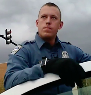 CSPD Officer Dustin Canaan knew nothing about the undercover scheme.