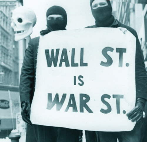 WALL STREET IS WAR STREET: best slogan spotted at #OccupyWallStreet | Not  My Tribe
